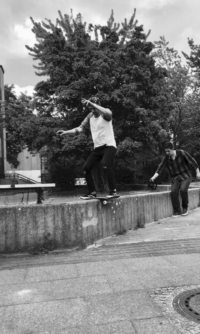 Chris Runde - Boardslide Pop Over, Berlin, Foto: Kalle Gosch